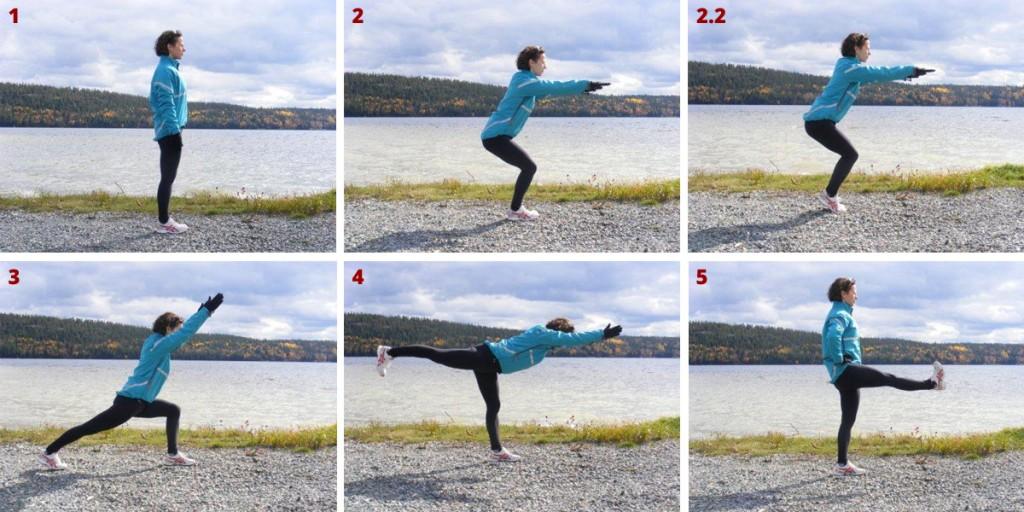 Exercices d'échauffement - Marilyn Vaillancourt - Entraîneure certifiée Yoga chez Momentum